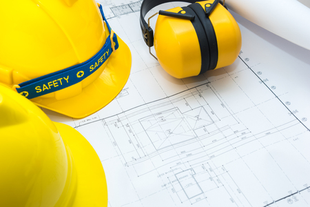 Drawing plan paper and safety tool for Subject to construction planning or business work