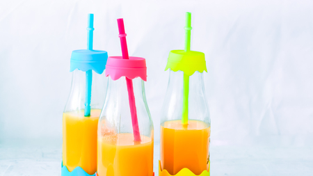 special bottles for juices, smoothies, cocktails