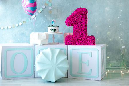 decorations for children's birthday Archivio Fotografico