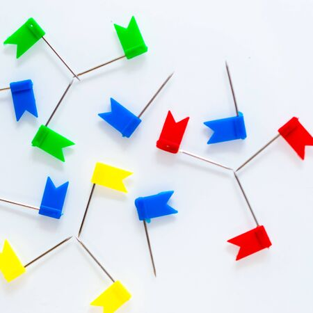 office supplies buttons and checkboxes