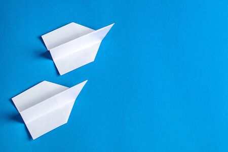 paper airplane-a symbol of easy but short-lived flight