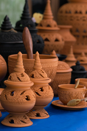 handicrafts: Pottery and Different Handicrafts In Thailand