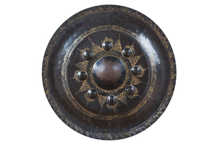 exotic gleam: Gong Isolated. This photo was taken at thai temple