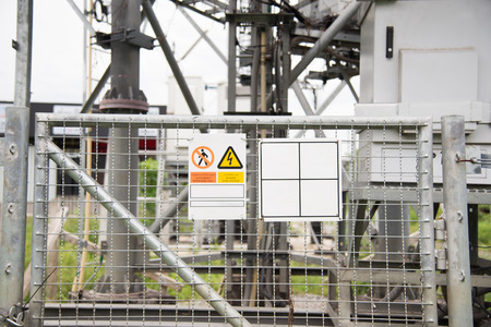forbid: The County forbid with high voltage