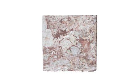 stones isolated: Rectangular stones isolated on background