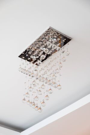 The page Board-mounted lamp Crystal