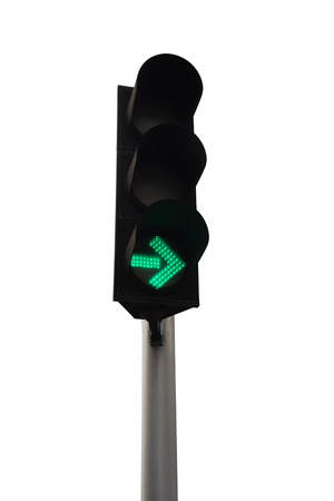 trafficlight: Traffic lights isolated on background