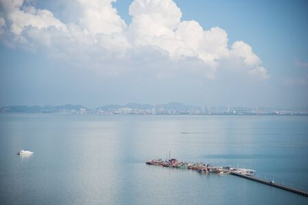 angle view: High angle view in Pattaya.