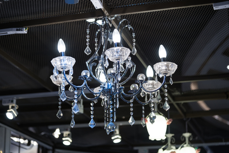 lighting fixtures: The page Board-mounted lamp Crystal
