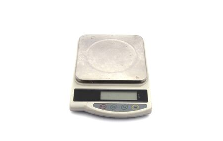 kilograms: scale isolated white on background.