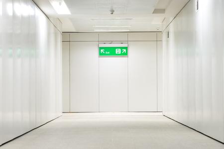 under ground: The under ground passage indoor