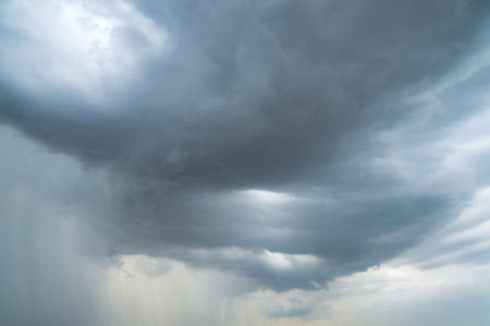 storm coming: The sky on a storm is coming Stock Photo