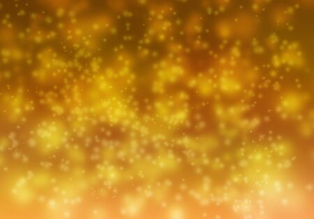 Abstract background yellow bokeh Standard-Bild