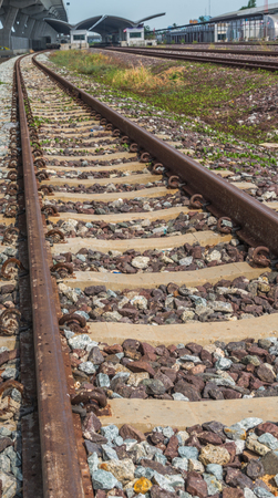 The way of railway track.