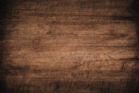 Old grunge dark textured wooden background,The surface of the old brown wood texture, top view brown wood paneling Stok Fotoğraf - 128696052
