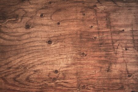 Old grunge dark textured wooden background, The surface of the old brown wood texture, top view brown wood paneling Stok Fotoğraf - 128697122
