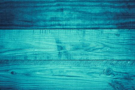 Blue wood plank texture for background. Top view of blue wood table Reklamní fotografie