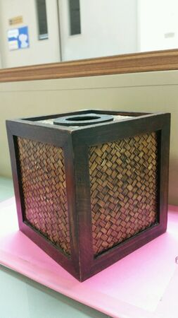 estuche: Caja de madera hechos a mano por