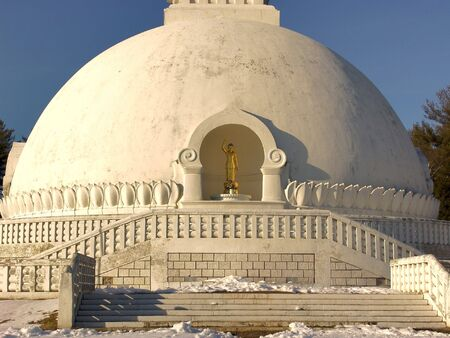 front entry: front entry to the beautiful peace pagoda located in scenic leverett massachusetts