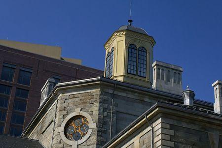 ボストンのチャールズ通りに位置するサフォーク郡監獄