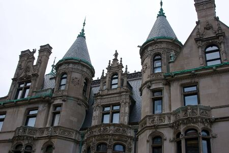 gargoyles: The Burrage House Mansion Similar to homes built on New Yorks Fifth Avenue, it was modeled after Chenonceaux, a chateau located in the Loire Valley of France, and represents the only example of the chateauesque style in Boston massachusetts. designed by