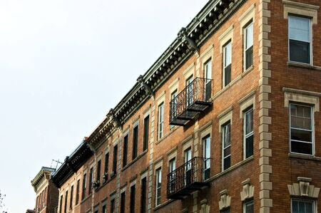 boston brownstone apartment buildings in beacon hill boston massachusetts Stock Photo - 3958868