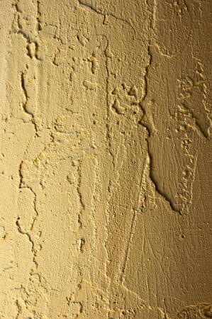 outside textured stucco rounded pillar detail suitable as background image
