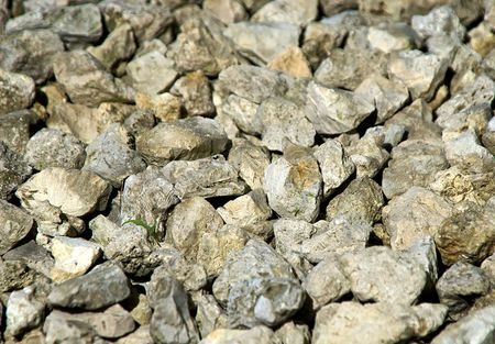 pile of small stones fill this image, suitable as a background