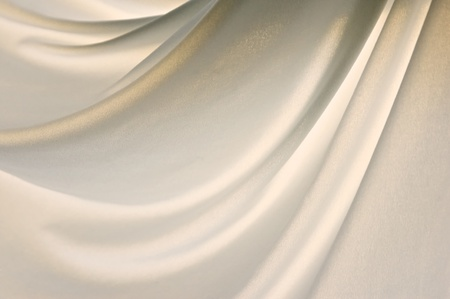 cloth: a light soft nylon cloth is gently draped creating folds in this back lit image.