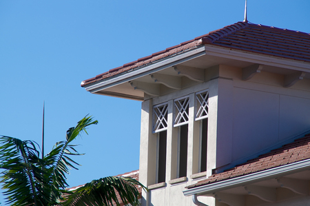 Generic building in florida with three windows