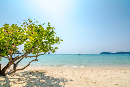 koh samet: quietness on the beautiful beach