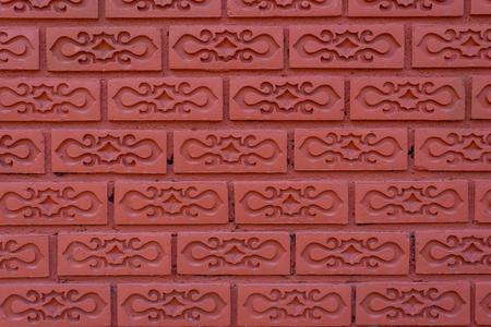 Beautiful brick wall pattern.