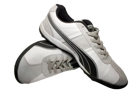Sporting shoe of running shoe for going in for sports Stock Photo