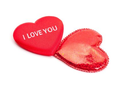 To red hearts for Valentine's day Stock Photo - 6387473