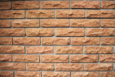 dirty room: Red brick wall texture background Stock Photo