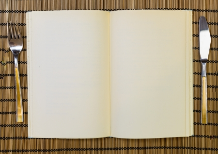 Empty book  photo