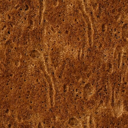 inclusions: Seamless Pattern of Baking Texture. Brown Cake texture