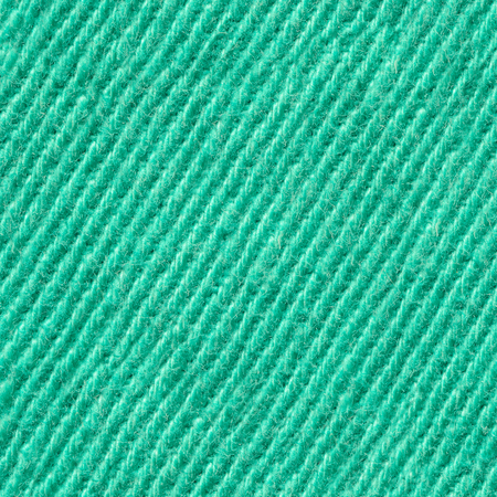 Seamless Green Denim Textile Texture. Repeating Pattern of Tissue Structure. Cloth Material Background