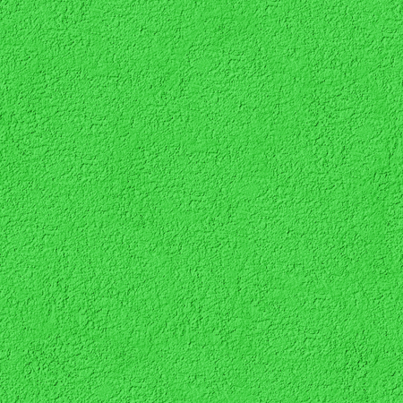 Seamless Texture of Green Cement Plaster. Plaster Wall Background. Repeatable Pattern with Finishing Layer of Gypsum Plaster. Saturated Colors