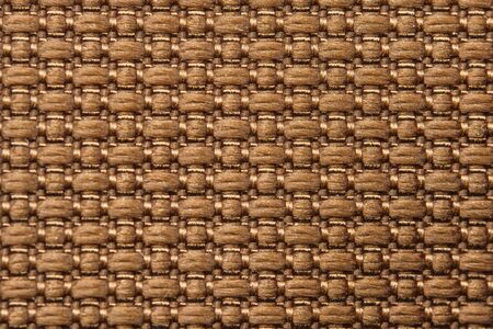 Brown Nylon Fabric Texture Background. Thick Fabric for Backpacks and Sports Equipment