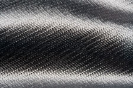 Gray Nylon Fabric Texture Background. Thick Fabric for Backpacks and Sports Equipment