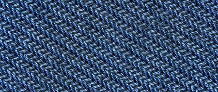 Blue fabric texture. Textile background