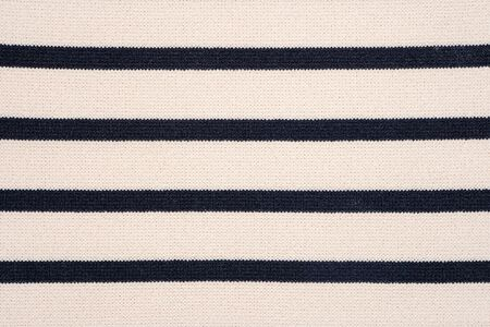 Striped Knit Fabric Texture Background