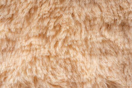 Faux Fur Texture Close Up Background