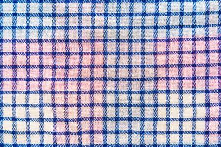 Plaid material texture. Clothes background Banque d'images