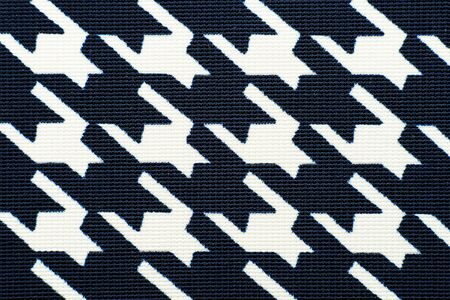 Fabric with goose foot pattern. Cloth background 版權商用圖片