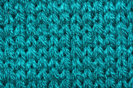 Blue synthetic knitted fabric texture 版權商用圖片