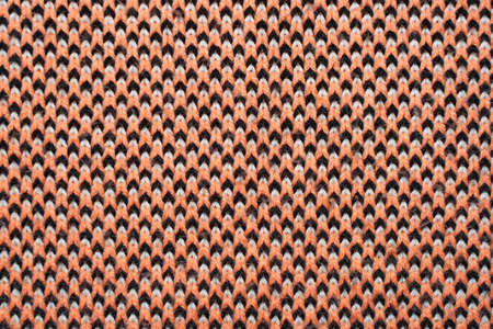 Red, white and black synthetic knitted fabric texture 版權商用圖片