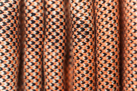 Background of red synthetic knitted fabric 版權商用圖片