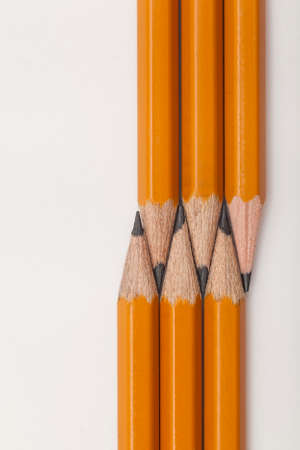the ends of the United pencils